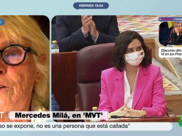 """Mercedes Milá opina sobre Isabel Díaz Ayuso: """"No voy a ser especialmente pelota"""""""