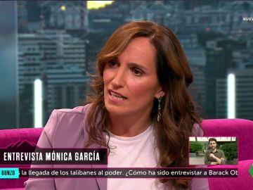 Mónica García en La Roca
