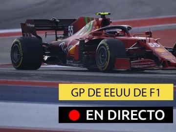 Carlos Sainz, en el GP de EEUU