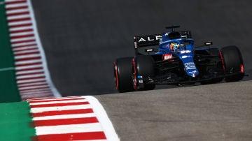 Fernando Alonso, en EEUU