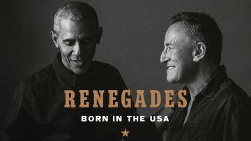 Portada del libro Renegados: Born in the USA, de Barack Obama y Bruce Springsteen