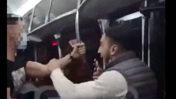 Detienen al autor de la brutal paliza a un policía en un autobús de Zaragoza
