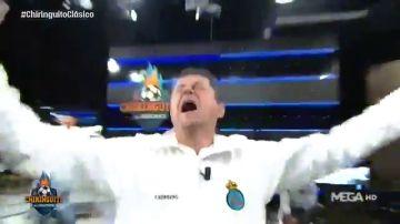 """Tomás Roncero, eufórico, estrena cántico tras el Clásico: """"¡¡Alaba Madrid!!"""""""