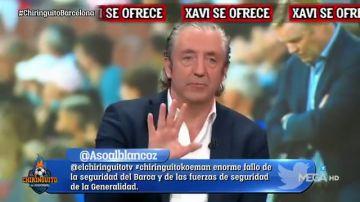"""Pedrerol da un golpe de realidad: """"En un momento delicado del Barça, Xavi dijo 'no' y Koeman dejó su selección y dijo 'sí'"""