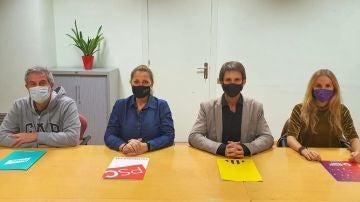 Acuerdo de gobierno en Badalona entre el PSC, ERC, Junts y los comunes