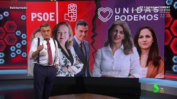 La seria recomendación de Wyoming al Gobierno de coalición tras las últimas tensiones entre PSOE y Unidas Podemos