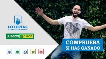Comprobar Lotería   Resultados de Cupón Diario de la ONCE, Bonoloto, Triplex y Super ONCE del lunes 25 de octubre de 2021