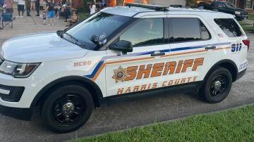 Vehículo de la Oficina del Sheriff de Harris County, en Houston