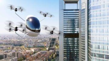 Así es el primer aerotaxi español: transportará a dos pasajeros a 15 kilómetros a la redonda