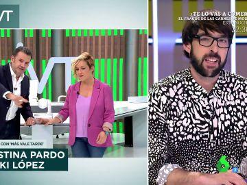 Quique Peinado confiesa por qué lleva camisas tan llamativas tras este comentario de Iñaki López en directo