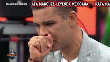 """Rafa Márquez, emocionado en 'El Chiringuito': """"Es difícil salir de tu país y que te traten así"""""""