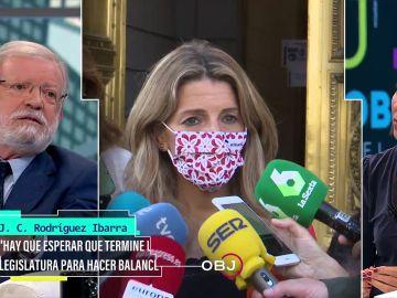 Esto es lo que piensa el histórico exdirigente del PSOE Juan Carlos Rodríguez Ibarra sobre Yolanda Díaz