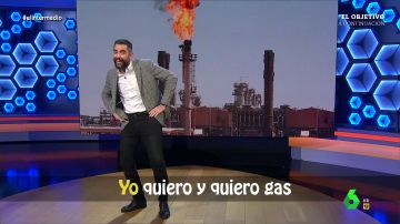 """""""Yo quiero y quiero gas"""": la canción de Dani Mateo para convencer a Argelia de que asegure el suministro"""