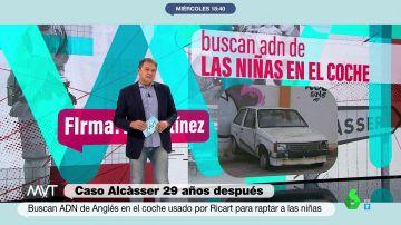 La Guardia Civil vuelve al coche del caso 'Alcasser': analizan los restos biológicos del vehículo en el que se trasladó a las niñas