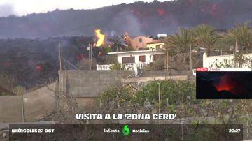 Pueblos fantasma cubiertos de ceniza: viaje a la zona cero del volcán de La Palma