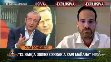 Exclusiva 'El Chiringuito': Xavi Hernández será el sustituto de Ronald Koeman en el FC Barcelona